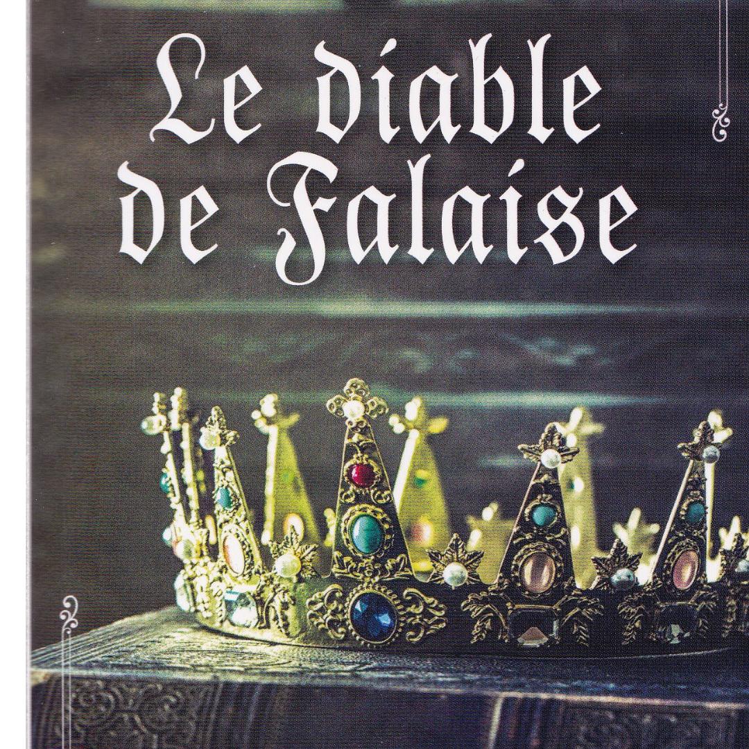 Le diable de Falaise - Anna Lyra - romance historique française